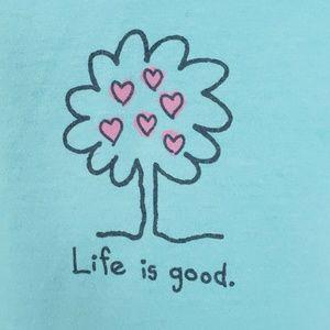 Life Is Good Tops - Womens Life is Good Medium Tee Shirt Top